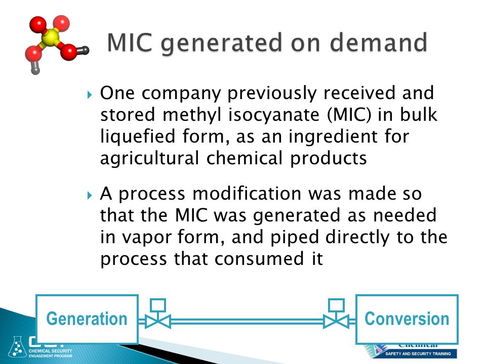 MIC generated on demand