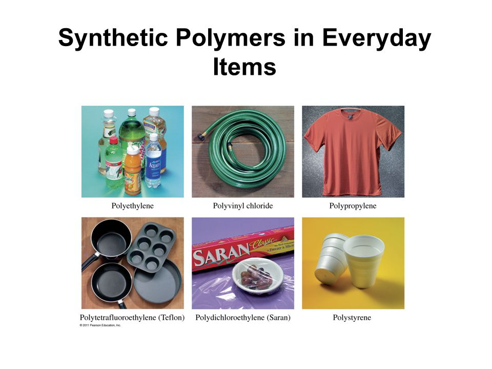 Synthetic Polymers in Everyday Items