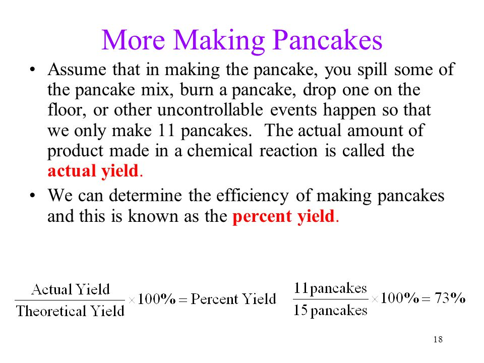 More Making Pancakes