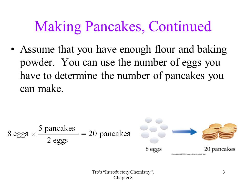 Making Pancakes, Continued