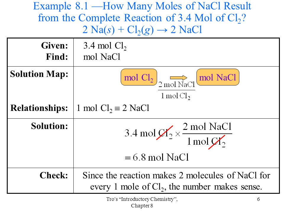 Tro s Introductory Chemistry , Chapter 8