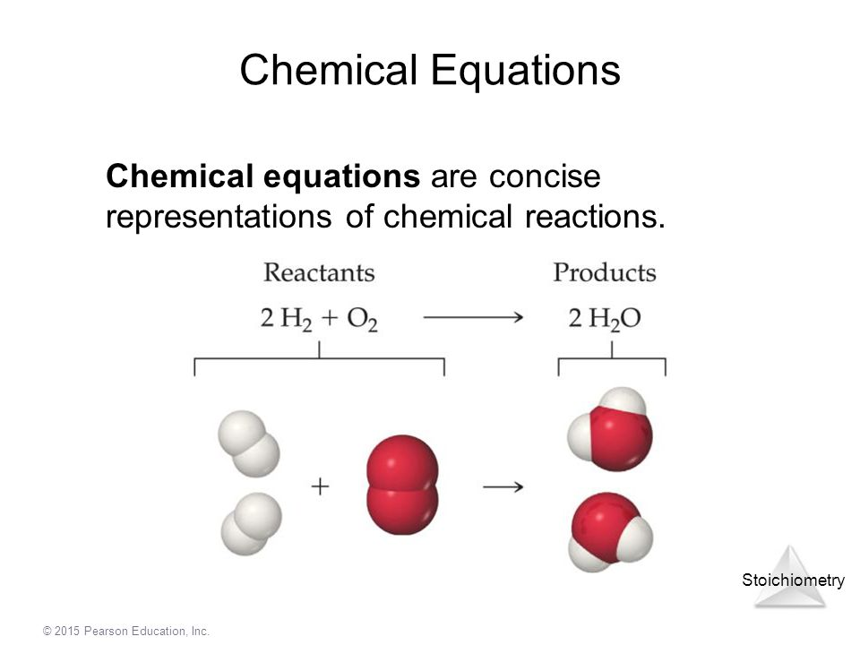 Chemical Equations Chemical equations are concise representations of chemical reactions.