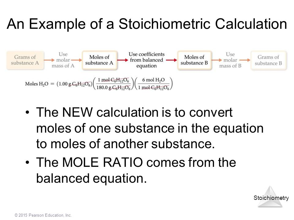 An Example of a Stoichiometric Calculation