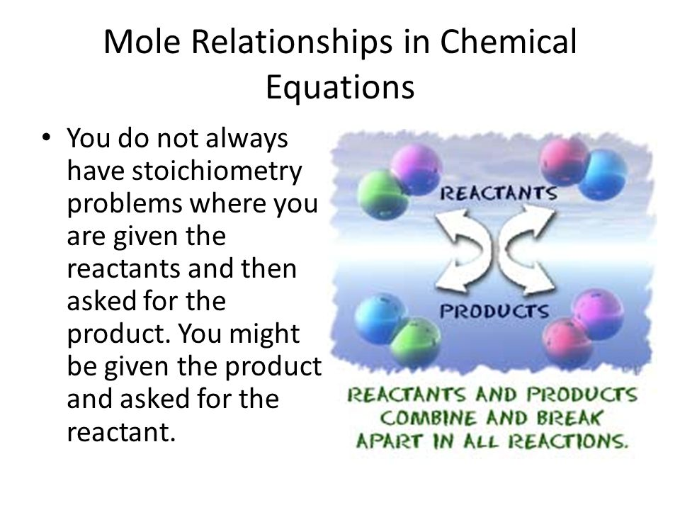 Mole Relationships in Chemical Equations