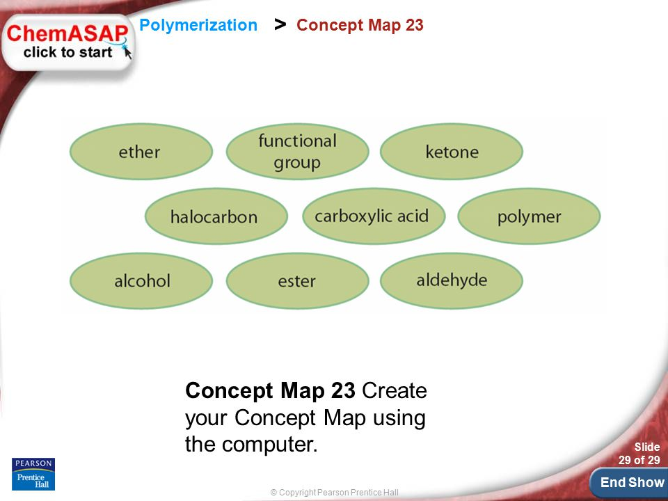 Concept Map 23 Create your Concept Map using the computer.