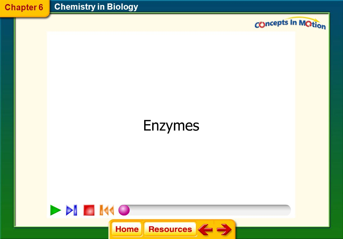 Chapter 6 Chemistry in Biology