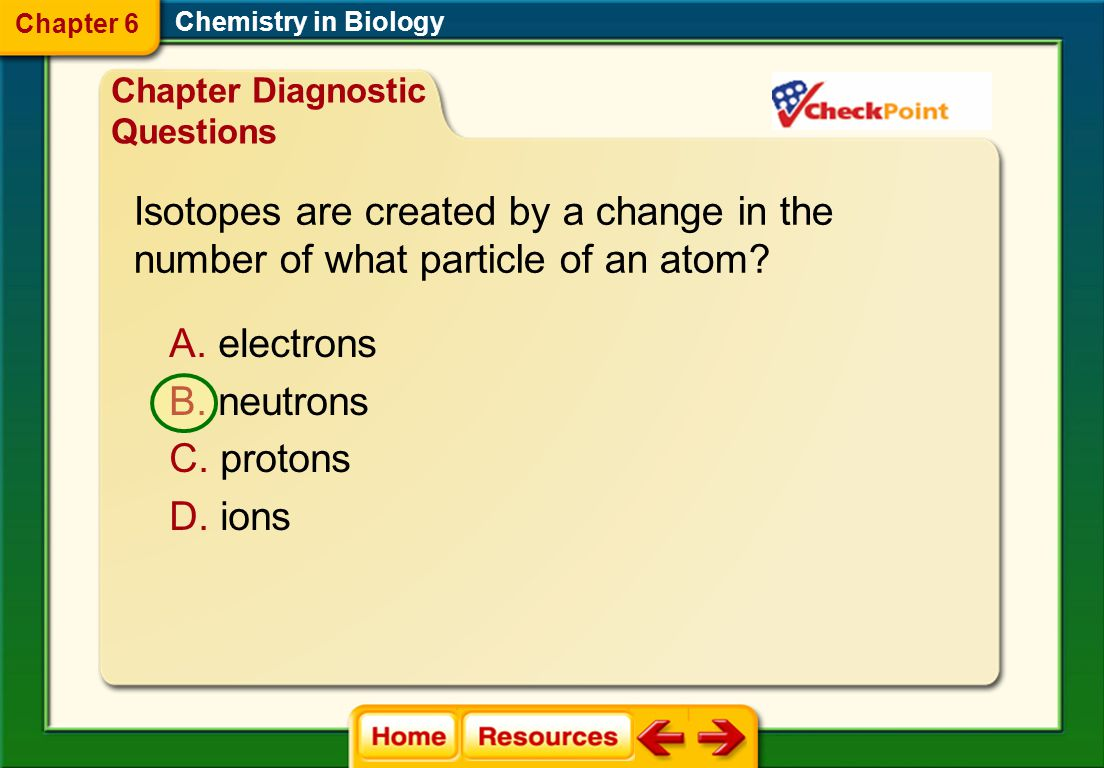 Isotopes are created by a change in the