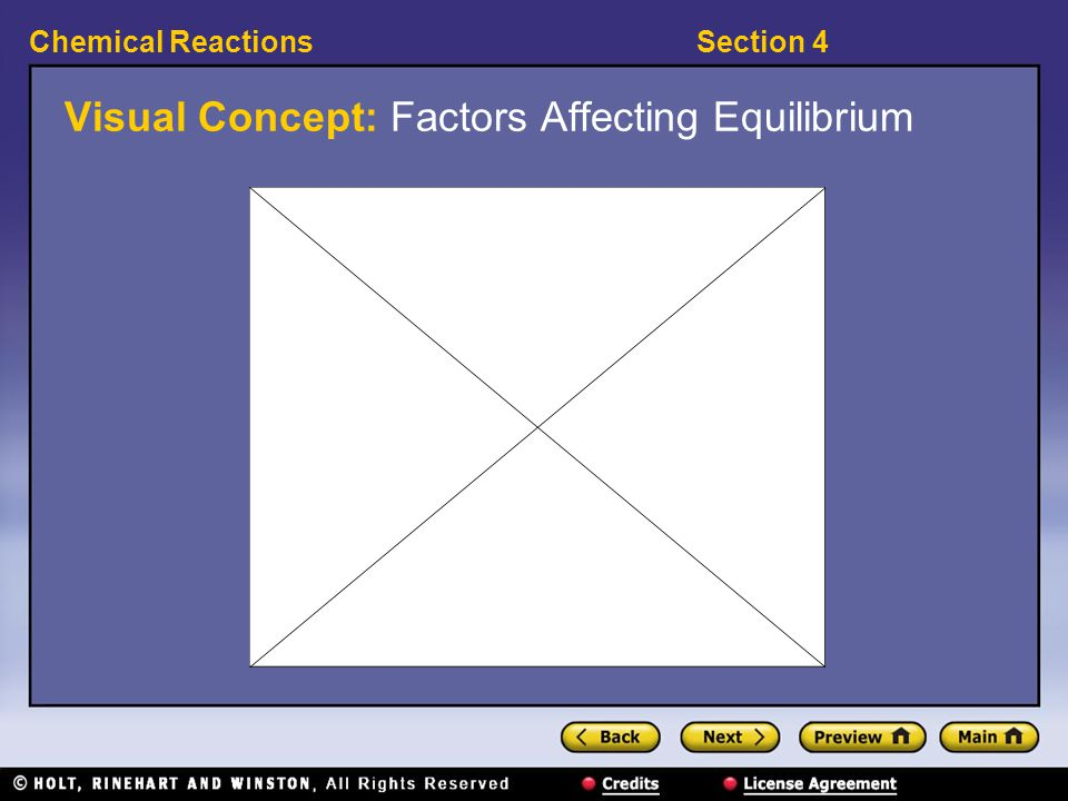 Visual Concept: Factors Affecting Equilibrium