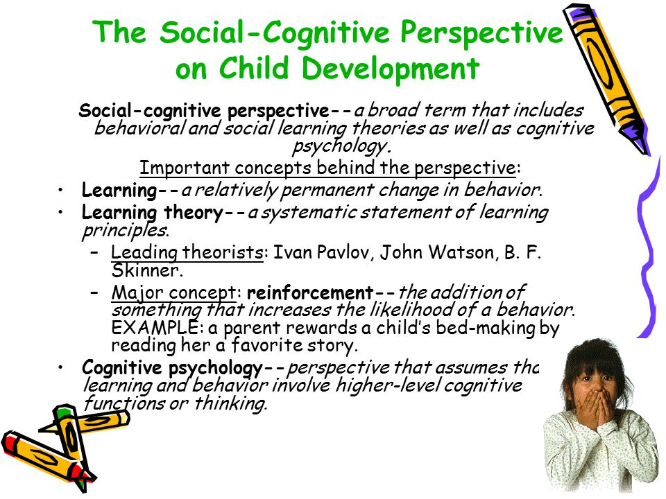 The importance of socialization for children to develop cognitively