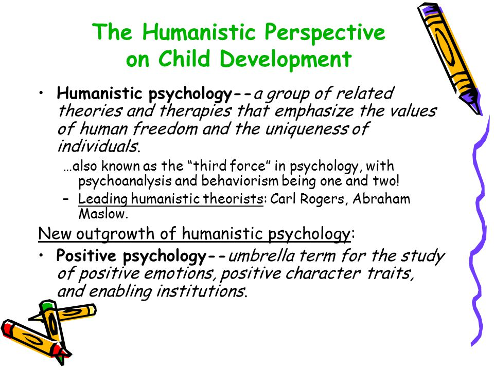 Positive psychology and the humanistic approach of psychology