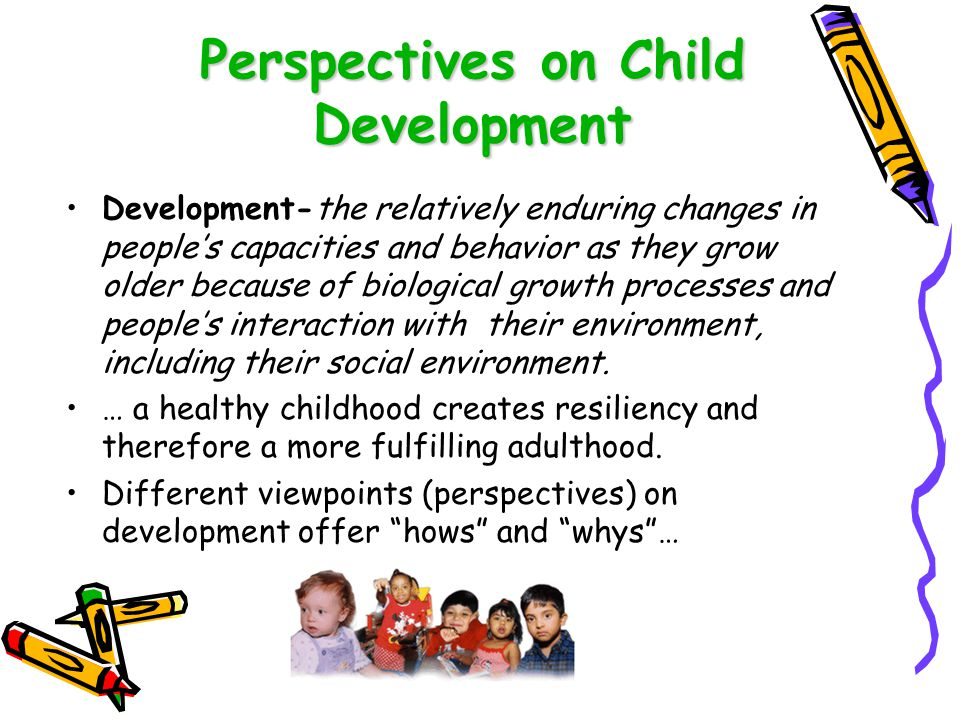 Perspectives on Child Development