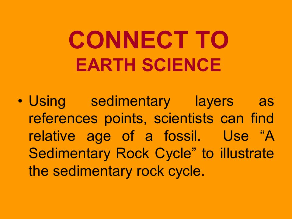 CONNECT TO EARTH SCIENCE