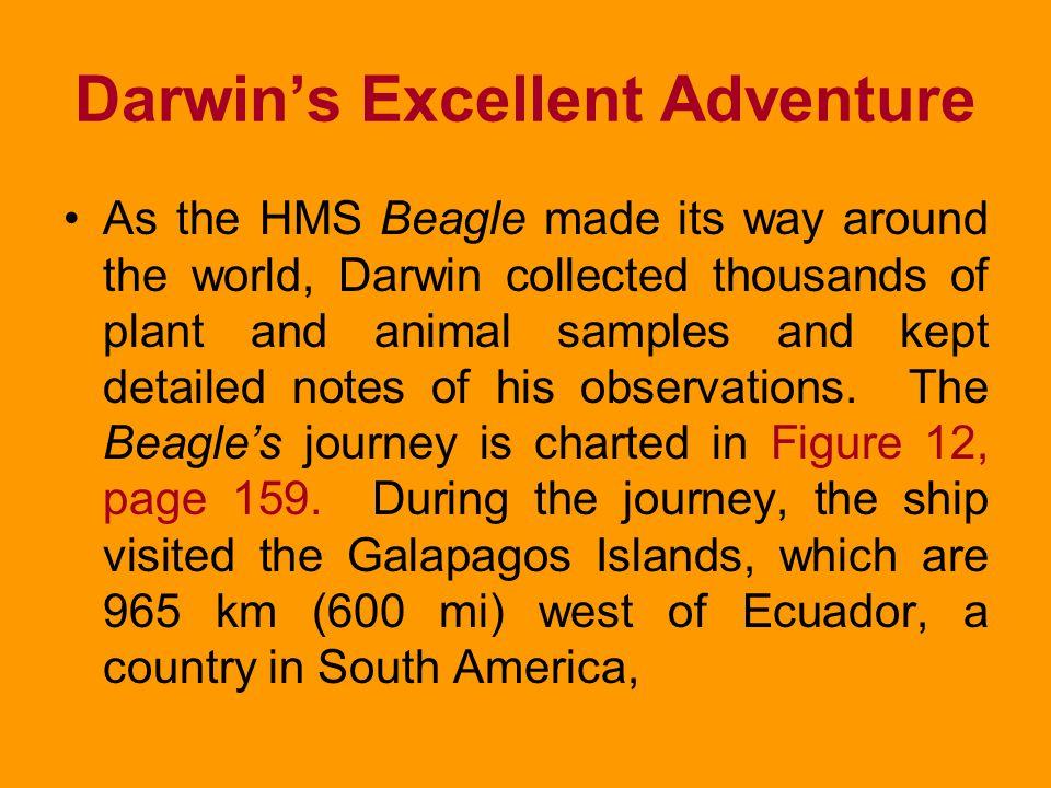 Darwin's Excellent Adventure