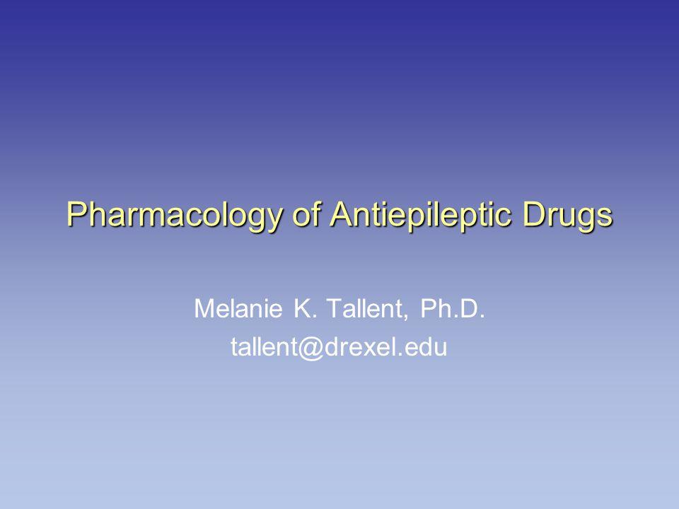 Pharmacology of Antiepileptic Drugs