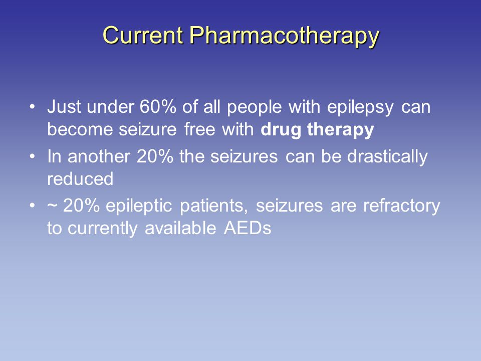 Current Pharmacotherapy
