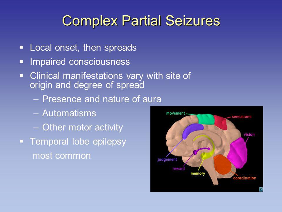 Complex Partial Seizures