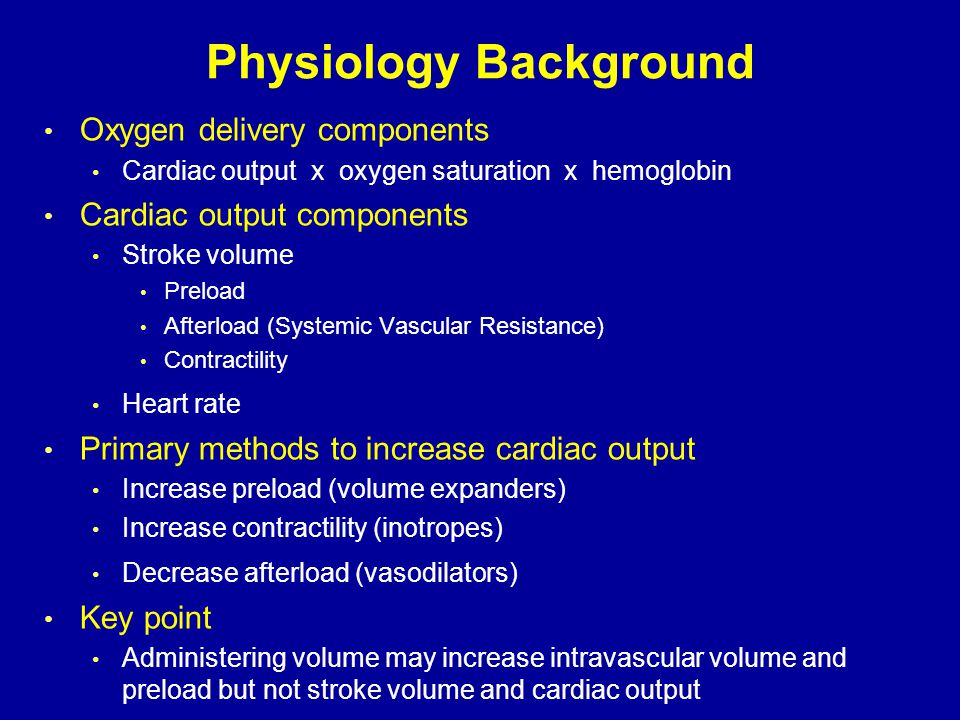 Physiology Background