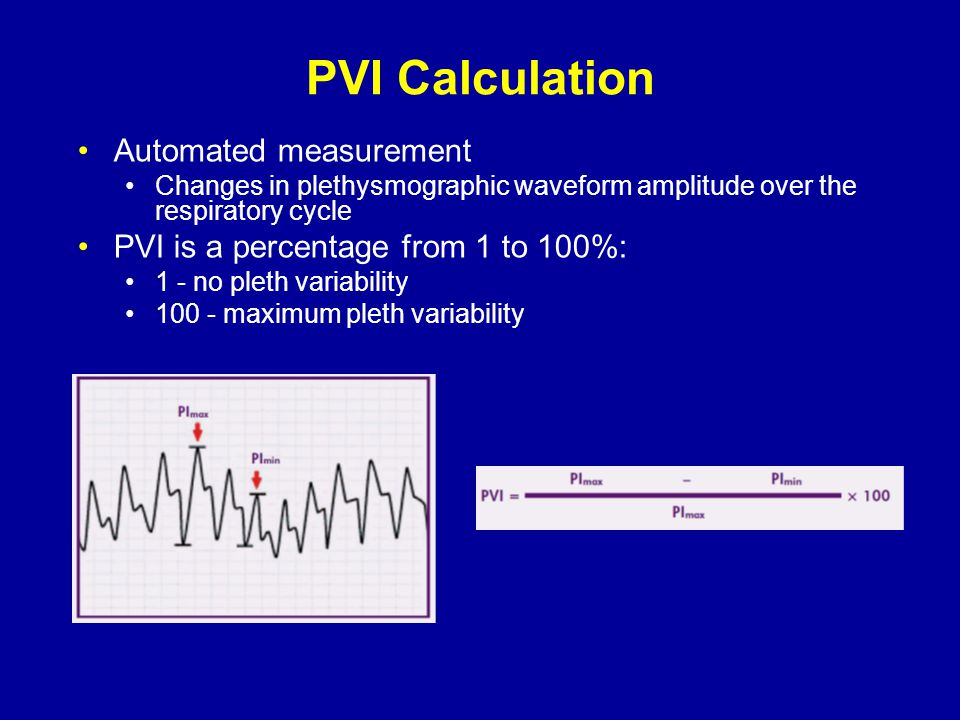PVI Calculation Automated measurement