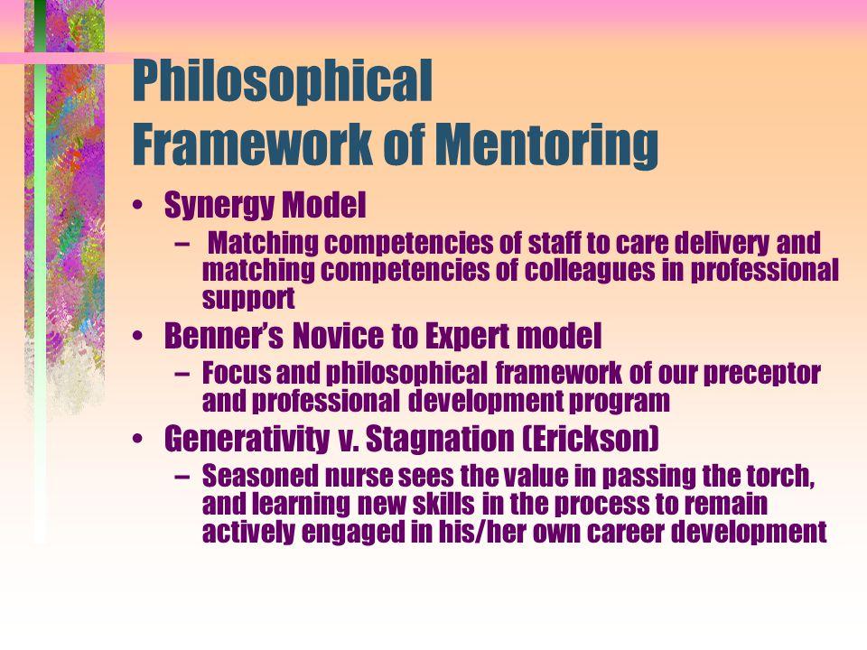 Philosophical Framework of Mentoring