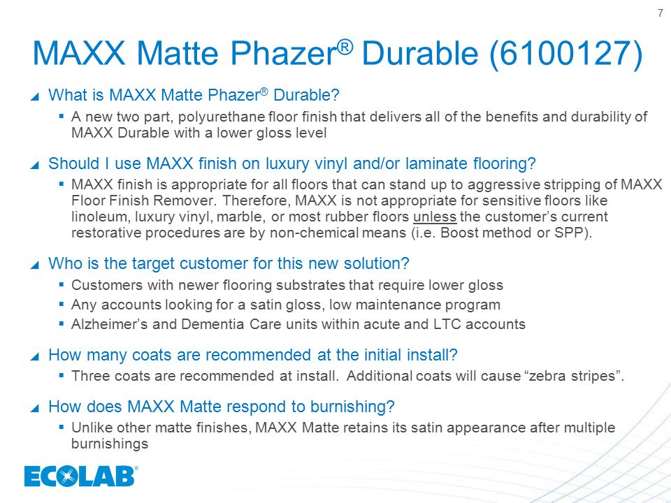 MAXX Matte Phazer® Durable (6100127)