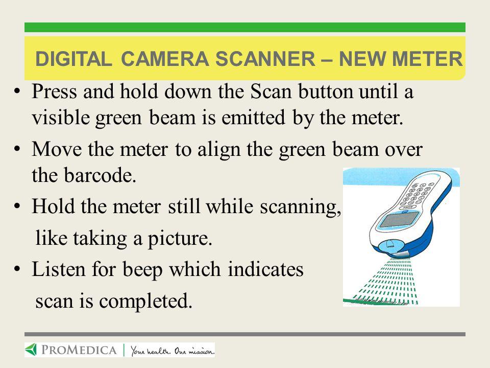 Digital camera scanner – new meter
