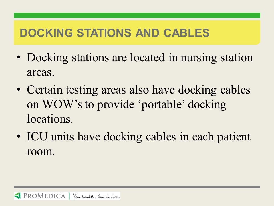Docking Stations and Cables