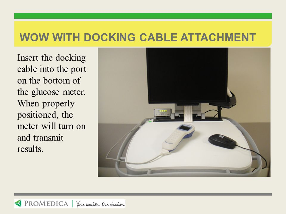 WOW with docking cable attachment