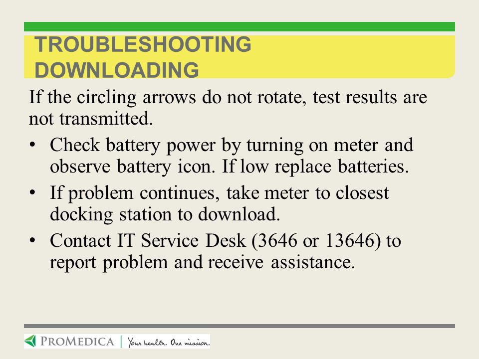 Troubleshooting Downloading