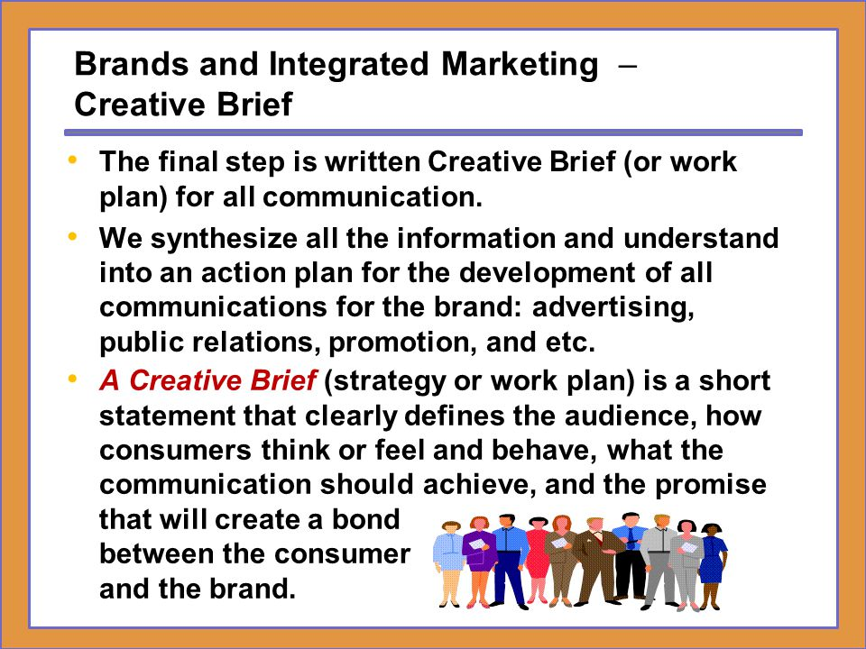 Brands and Integrated Marketing – Creative Brief