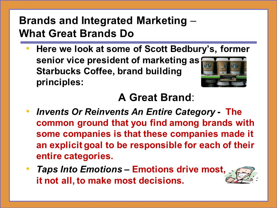 Brands and Integrated Marketing – What Great Brands Do