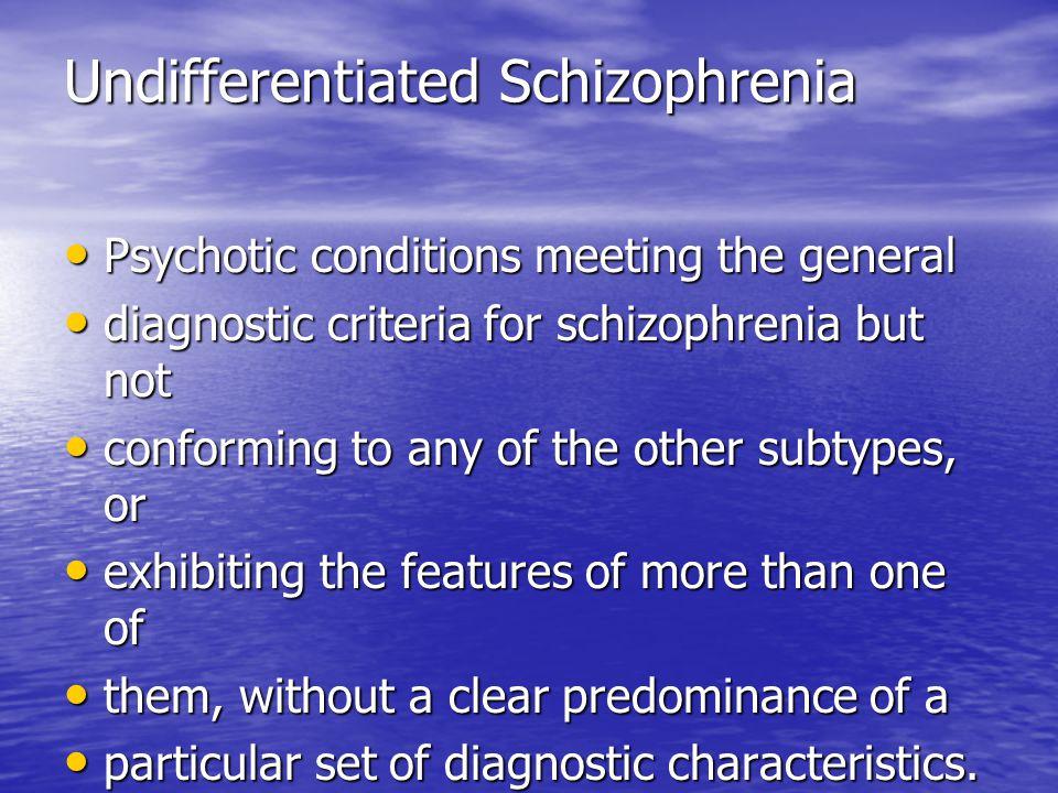 case studies of schizophrenia
