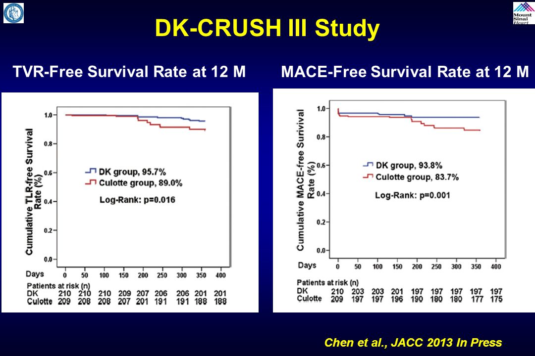 TVR-Free Survival Rate at 12 M MACE-Free Survival Rate at 12 M