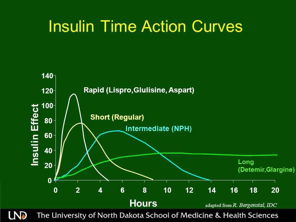 Insulin Time Action Curves