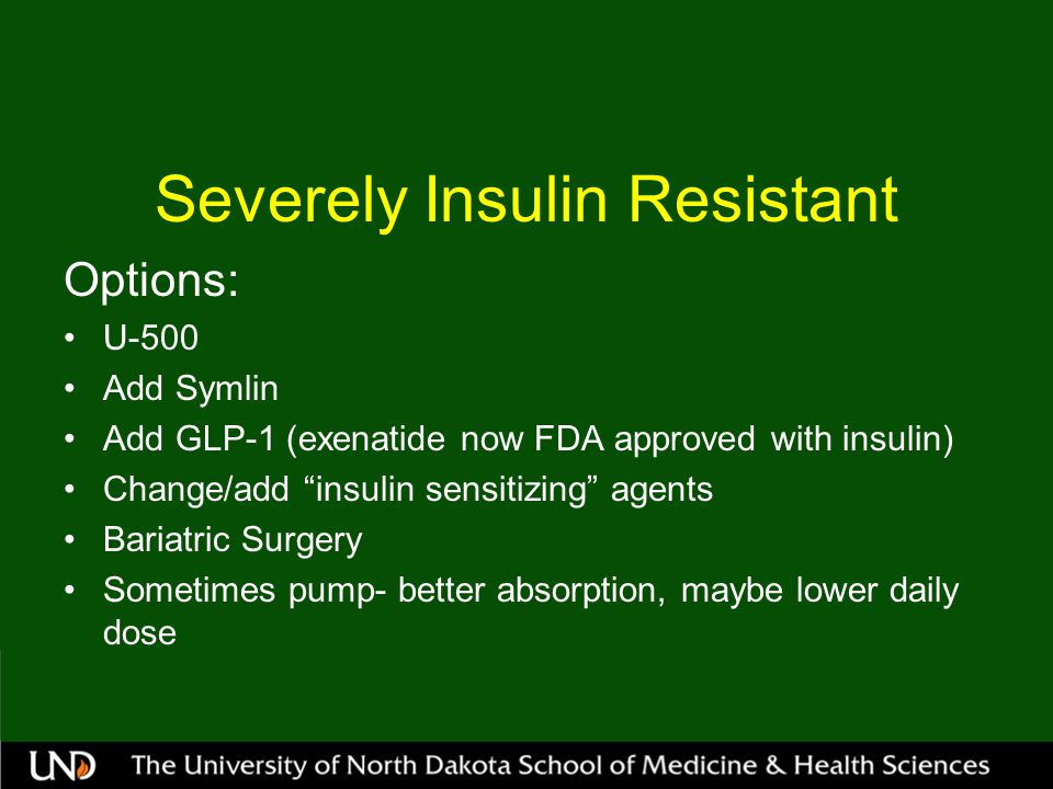 Severely Insulin Resistant