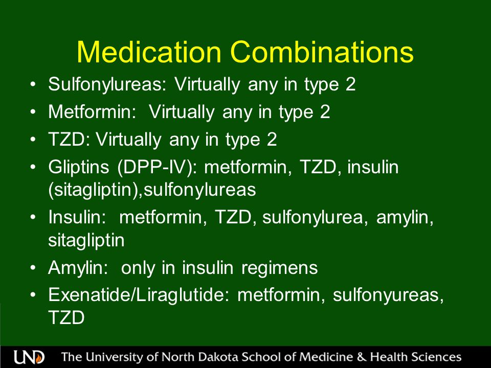 Medication Combinations