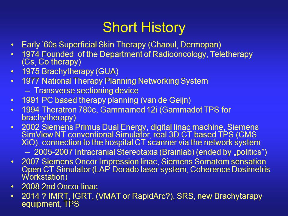 Short History Early '60s Superficial Skin Therapy (Chaoul, Dermopan)