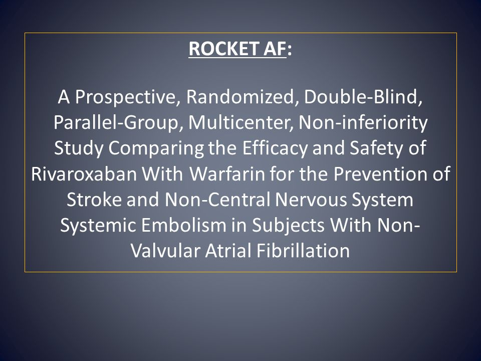 ROCKET AF: