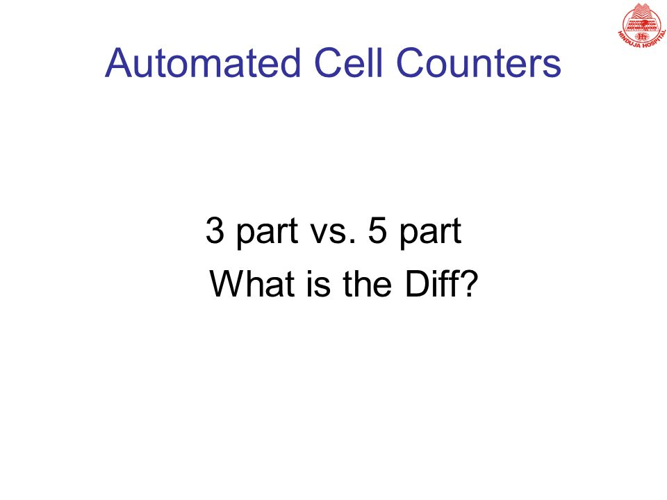 Automated Cell Counters
