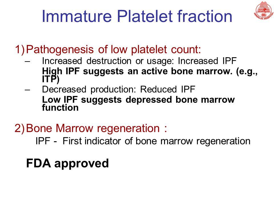 Immature Platelet fraction