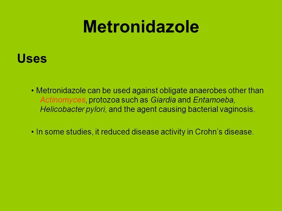 Metronidazole Uses.
