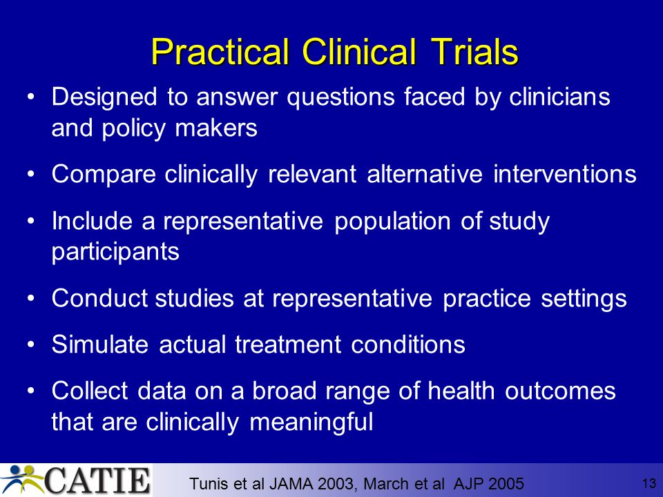 Practical Clinical Trials