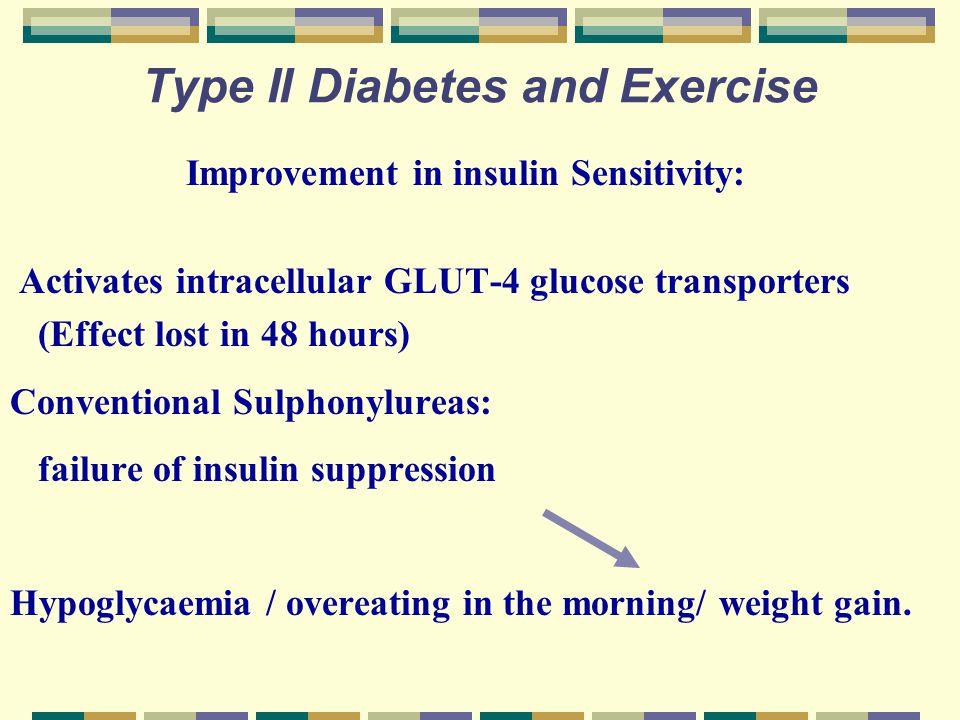 Type II Diabetes and Exercise