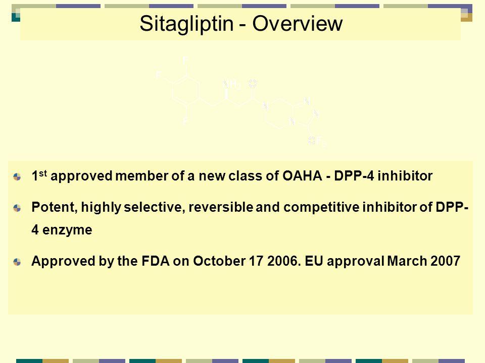 Sitagliptin - Overview
