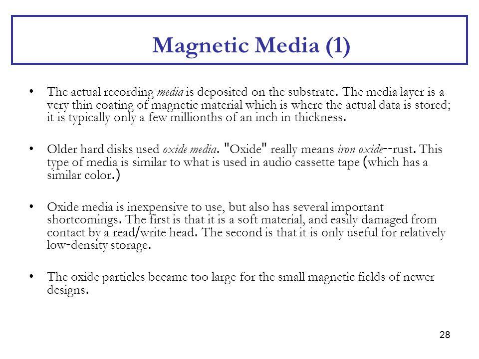 Magnetic Media (1)
