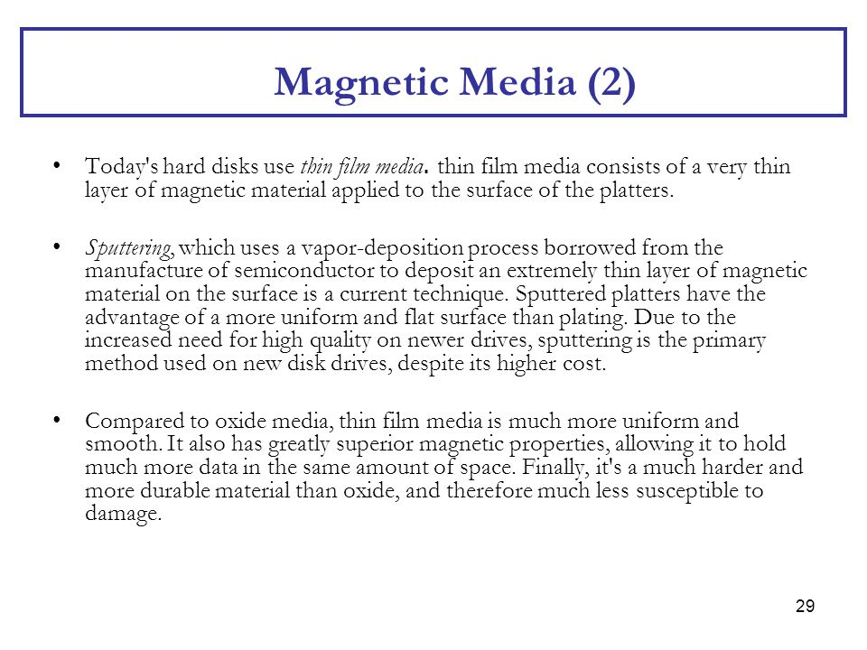 Magnetic Media (2)
