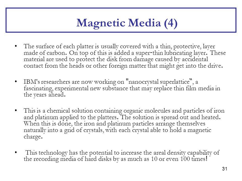 Magnetic Media (4)