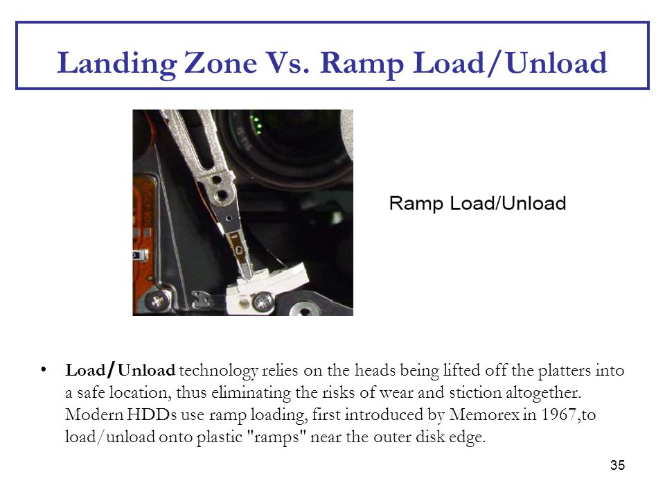 Landing Zone Vs. Ramp Load/Unload
