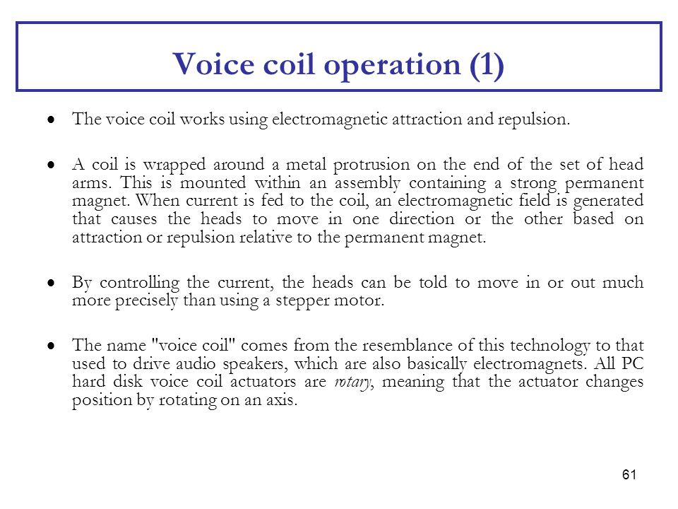 Voice coil operation (1)
