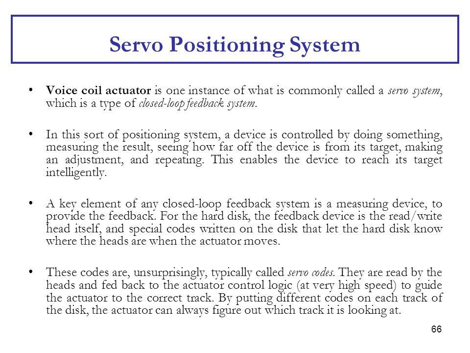 Servo Positioning System