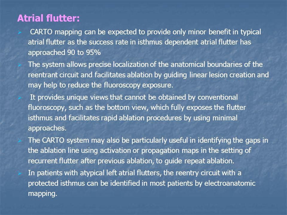 Atrial flutter: